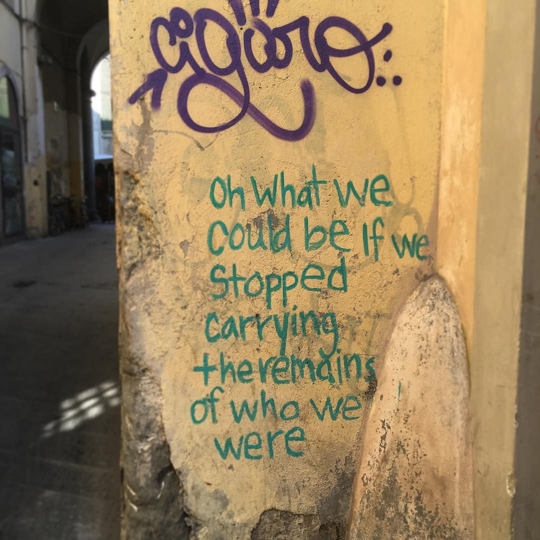 """@tylerknot: """"Flattered and stunned and curious and in awe, all are really accurate terms to describe when people find and photograph graffiti of mylene words all around…"""""""