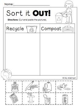 Earth Day FREE   TpT FREE LESSONS   Pinterest