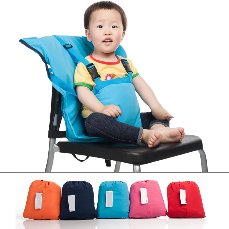 Baby Portable Seat Kids Chair Travel Foldable Washable Infant