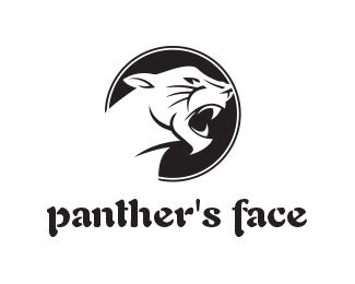panther 27s 20face 20logo 20design 20 20this 20design 20is 20fully