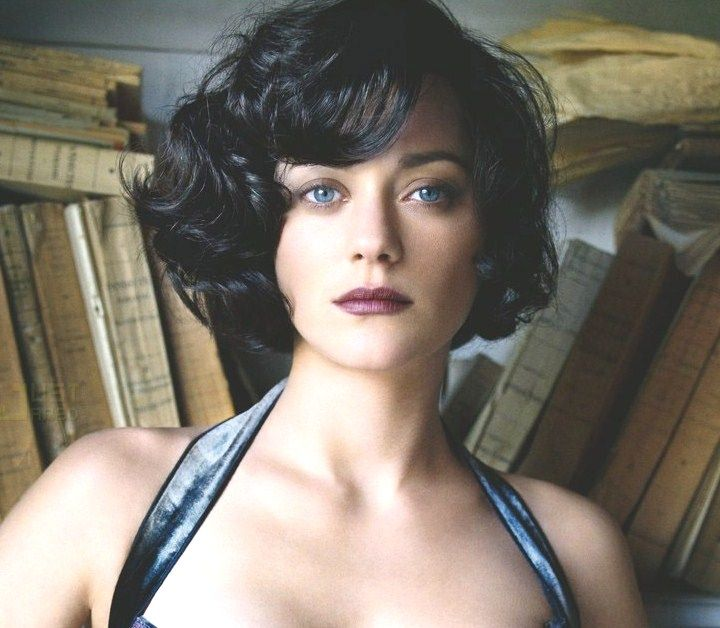 Marion Cotillard Short Hair Women Pixie Shorthair