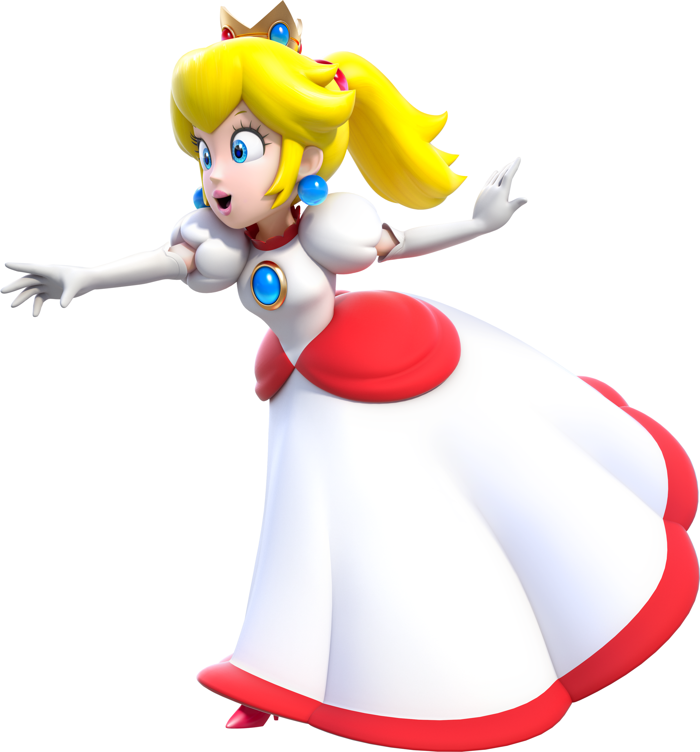 Princess peach videogameologists d i y projects to try - Princesse mario bros ...