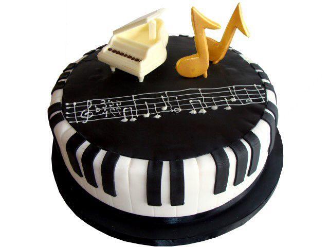 Music birthday cake Classical music designs Pinterest Music