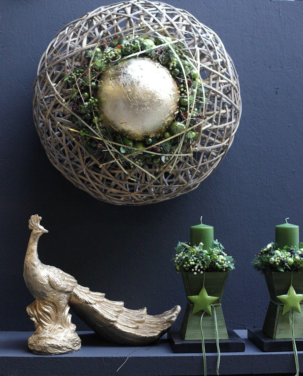 weihnachtliche gesteck ideen teil ii mehr sehen. Black Bedroom Furniture Sets. Home Design Ideas