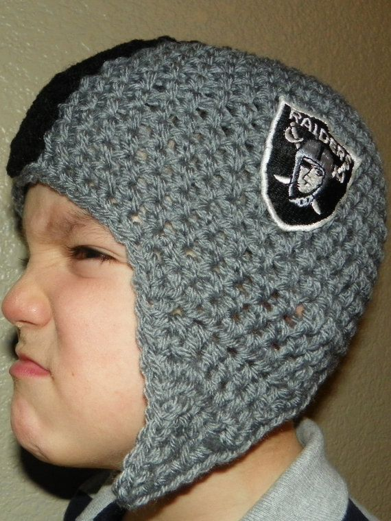 Football Helmet Beanie INFANT Handmade Crochet | Dillonsgirl Shop ...