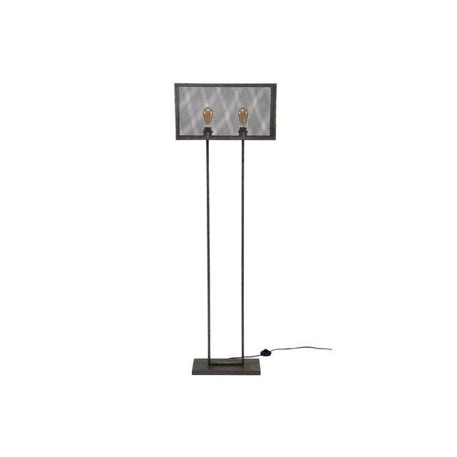 Le Style Industriel S Invite Dans Nos Interieurs Et Ce Lampadaire Gitter En Est Une Belle Representation Concu En Metal Avec Lampadaire Lampadaire Design Lamp