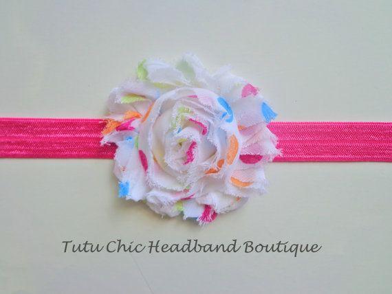 polka dot headband: baby headbands, newborn headband, infant headband, toddler headband, childrens headband