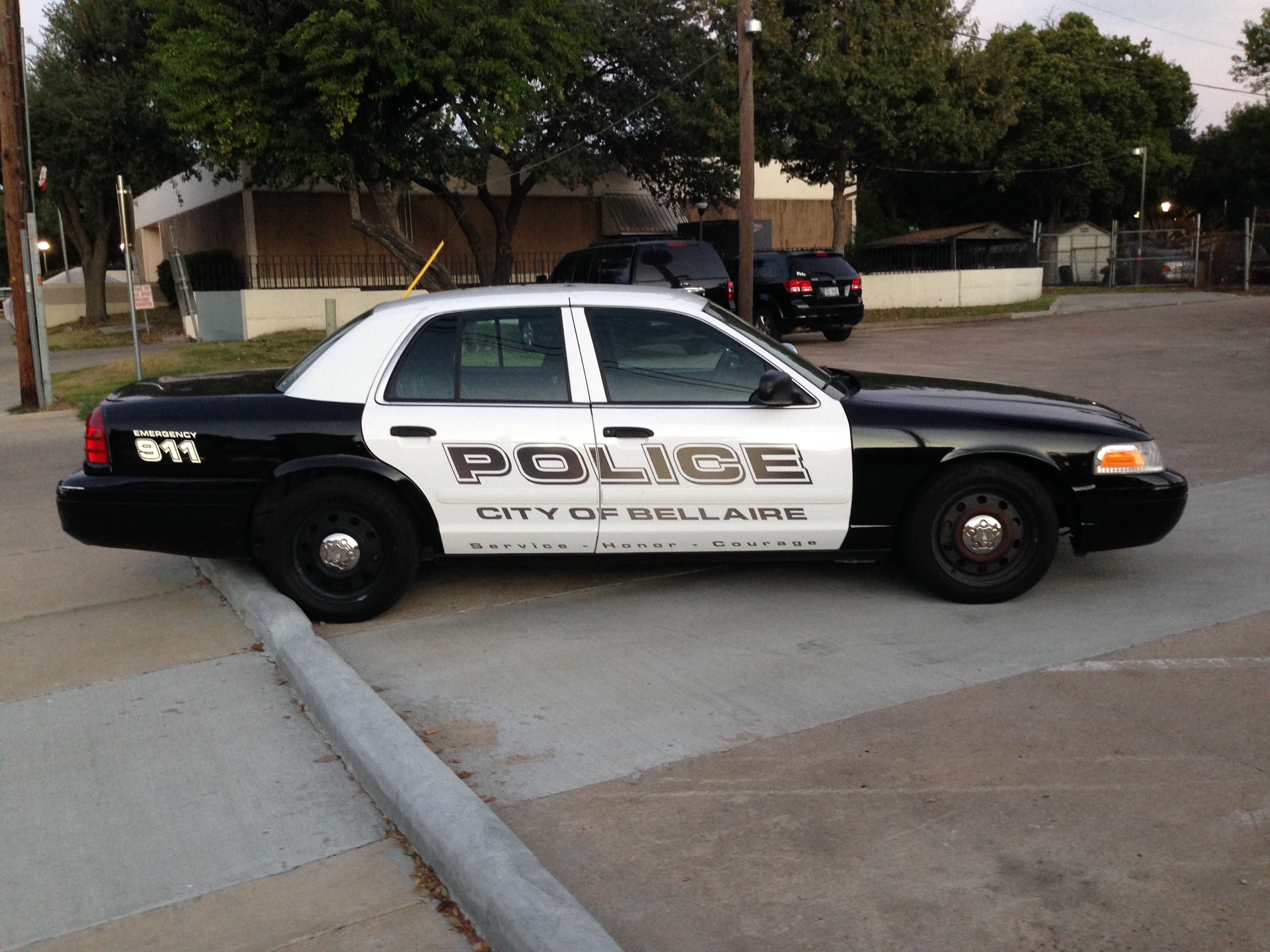 Bellaire Police Ford Crown Victoria Texas