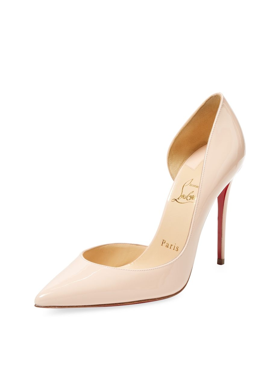 Christian Louboutin Leather D'Orsay Pumps free shipping real buy cheap lowest price clearance marketable buy cheap best store to get 4L7JF