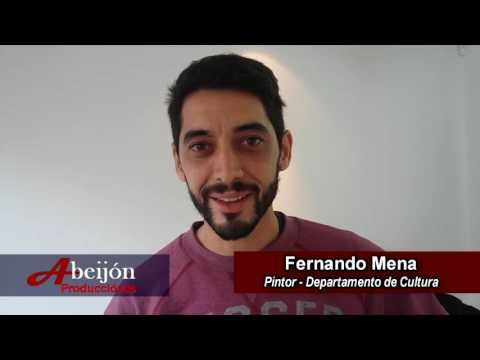 FERNANDO MENA Y JULIAN SERVINI previa exposición de Julián