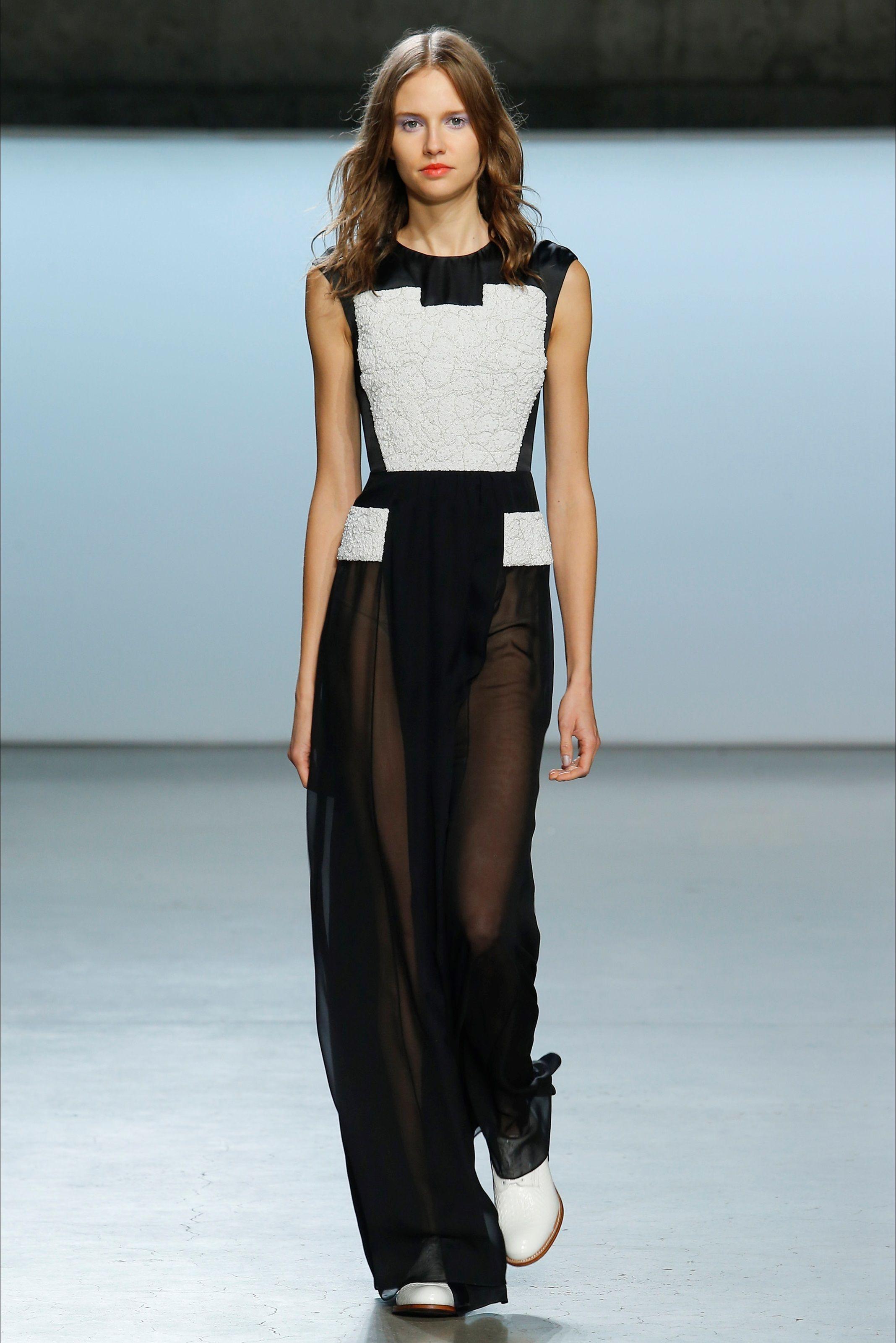 b16b2b5c5855d Sfilata Sally LaPointe New York - Collezioni Primavera Estate 2015 - Vogue