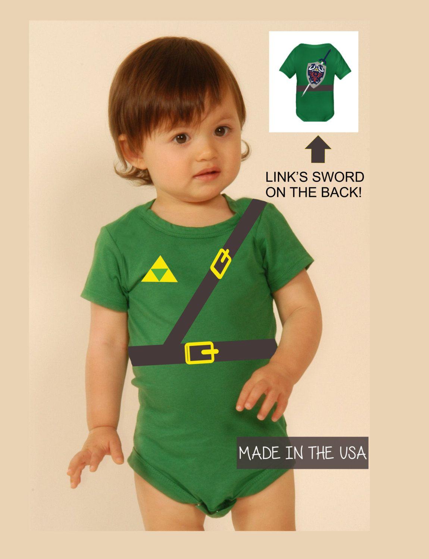 f967085e2 Link Onesie Baby Shower Gift Legend Of Zelda by Popcultureapparel, $19.99