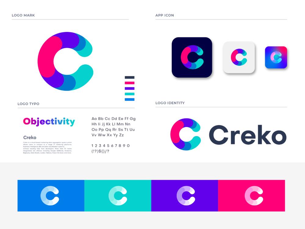 creko branding for Data Analysis Software Data analysis