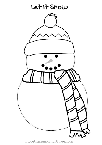 Free Kids Christmas Coloring Pages Printables | Pinterest ...