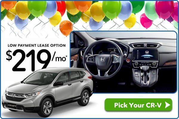 Honda Crv Lease Deals