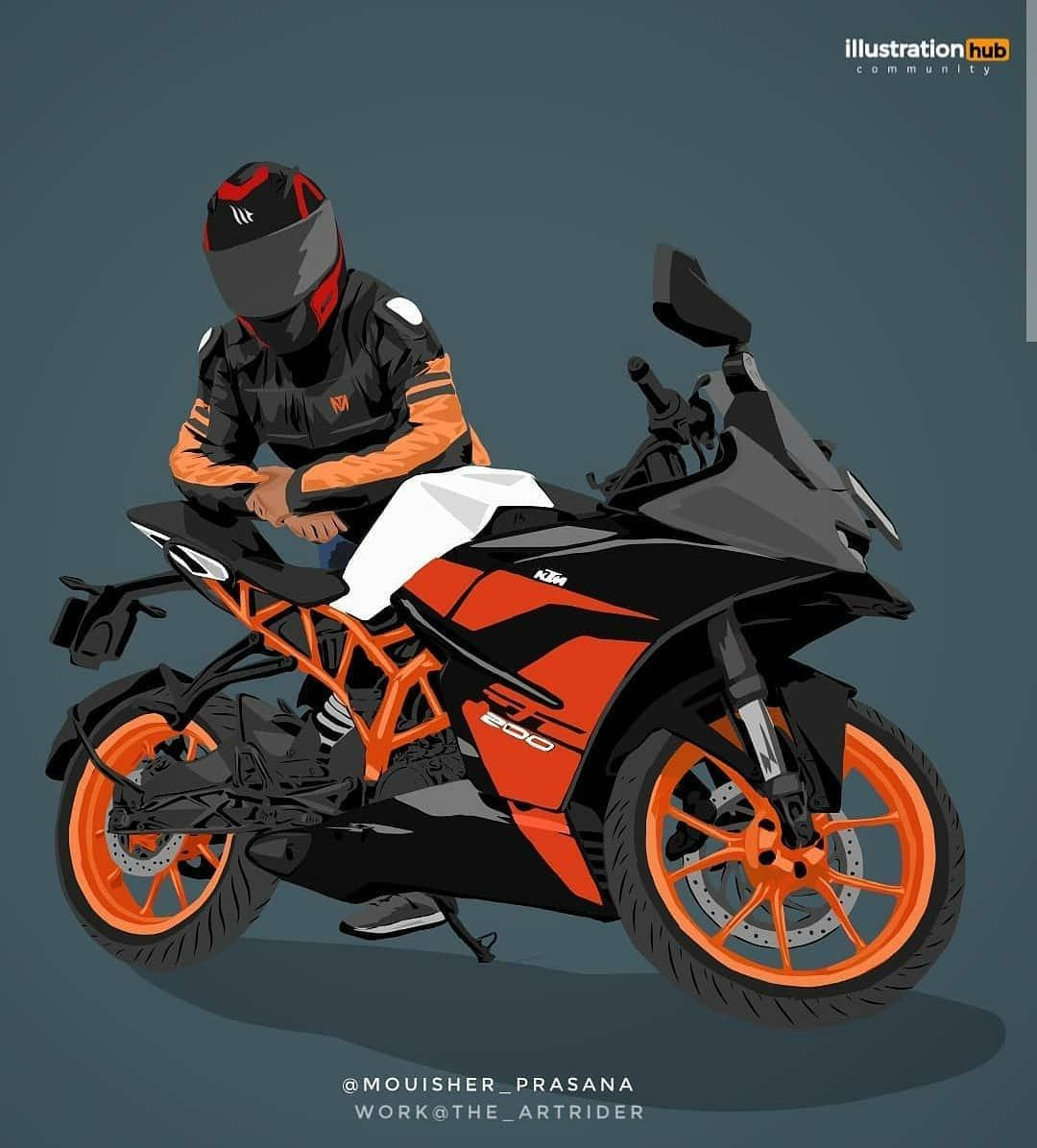 Ktm Model On Instagram Follow My Ktm Bike Page Ktm Model Ktm Model Ktm Model Ktm Model Bike Drawing Cartoon Girl Images Motorcycle Drawing Download ktm wallpaper gif