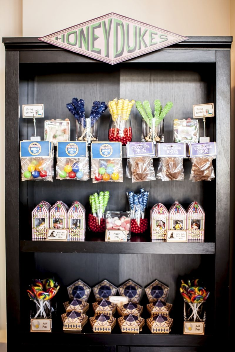 Harry Potter Inspired 9th Birthday Party Harry Potter Candy