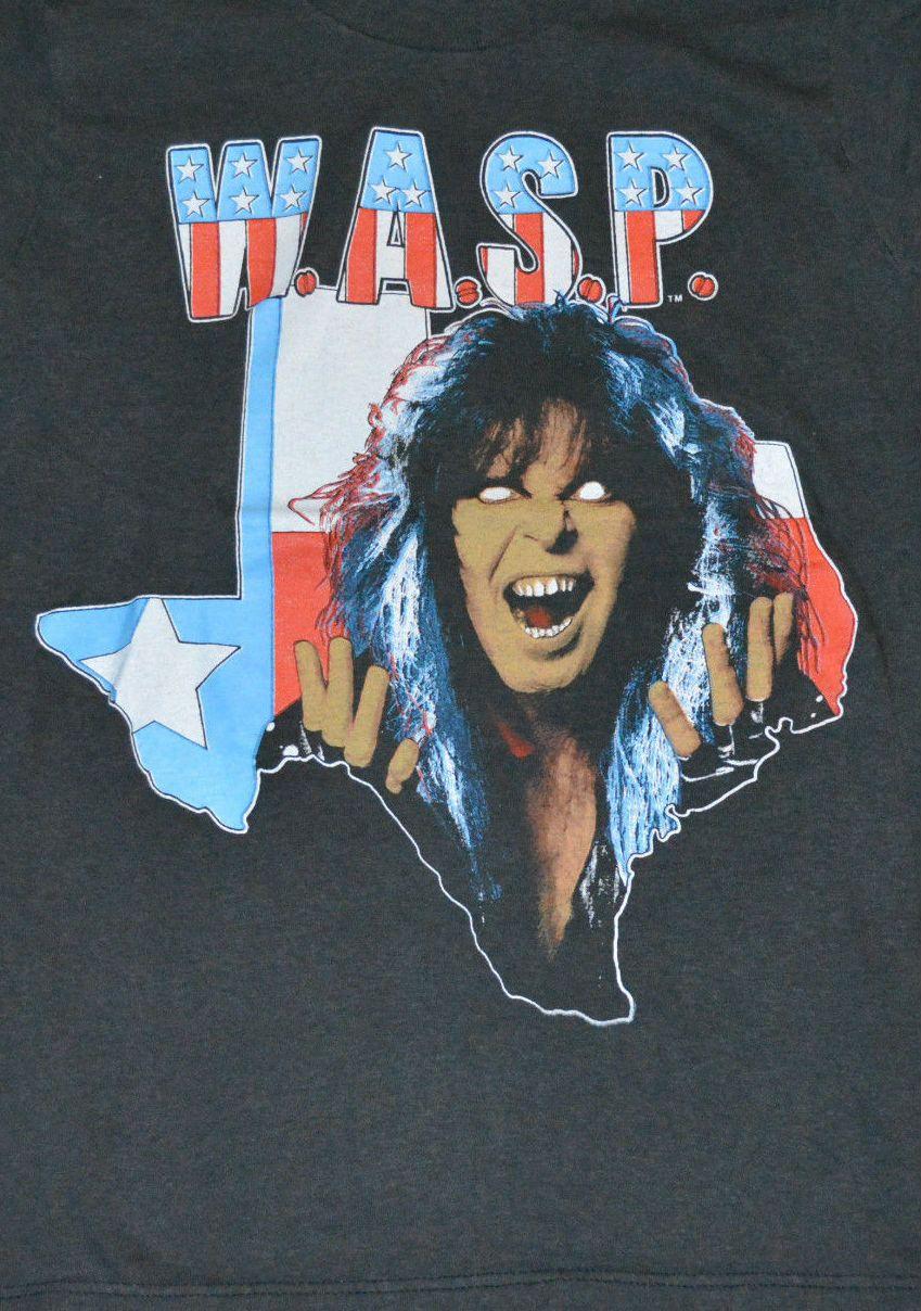 W.A.S.P. Vintage T-Shirt https://www.facebook.com/FromTheWaybackMachine