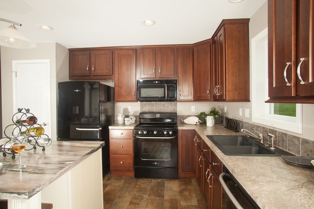 Bellissimo Nh376a Manorwood Ranch Cape Homes Finding A House Home Beautiful Kitchens
