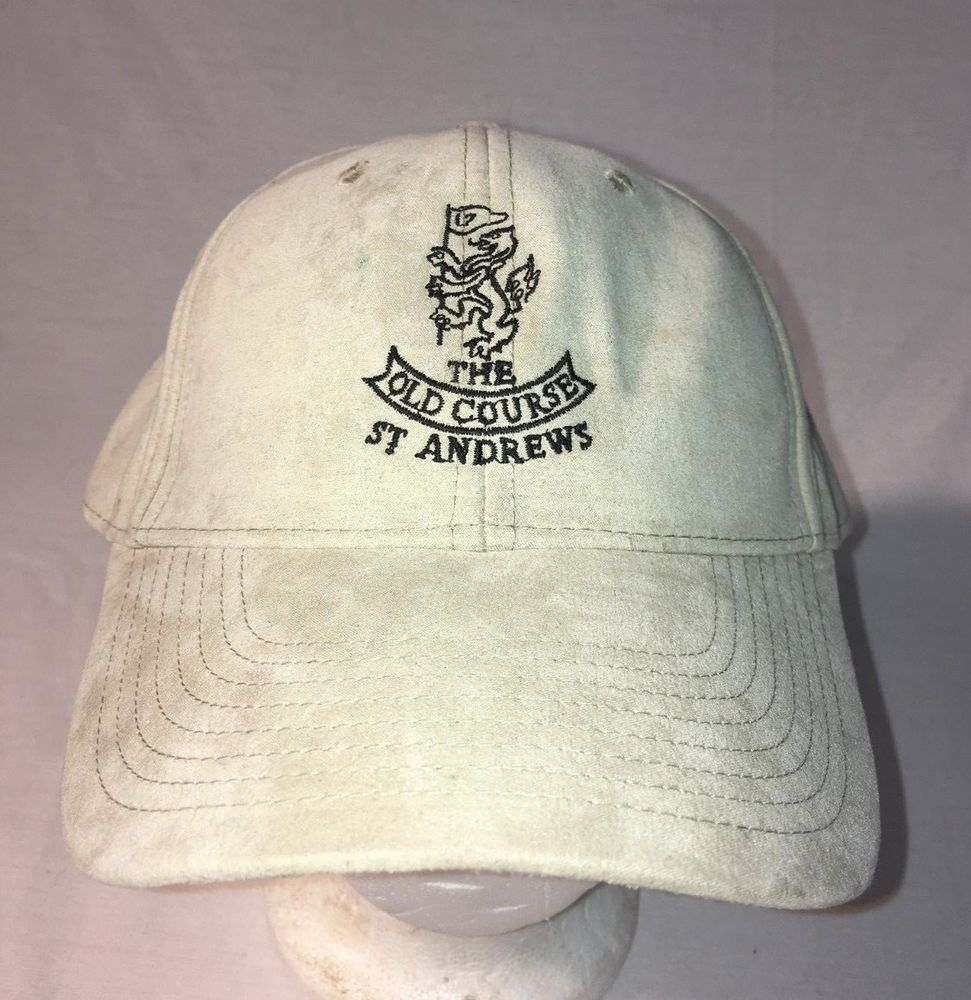 Old Course ST Andrews Hat Golf Adjustable Cap Ashworth EUC  fashion   clothing  shoes  accessories  mensaccessories  hats (ebay link) 5755d2c60b3