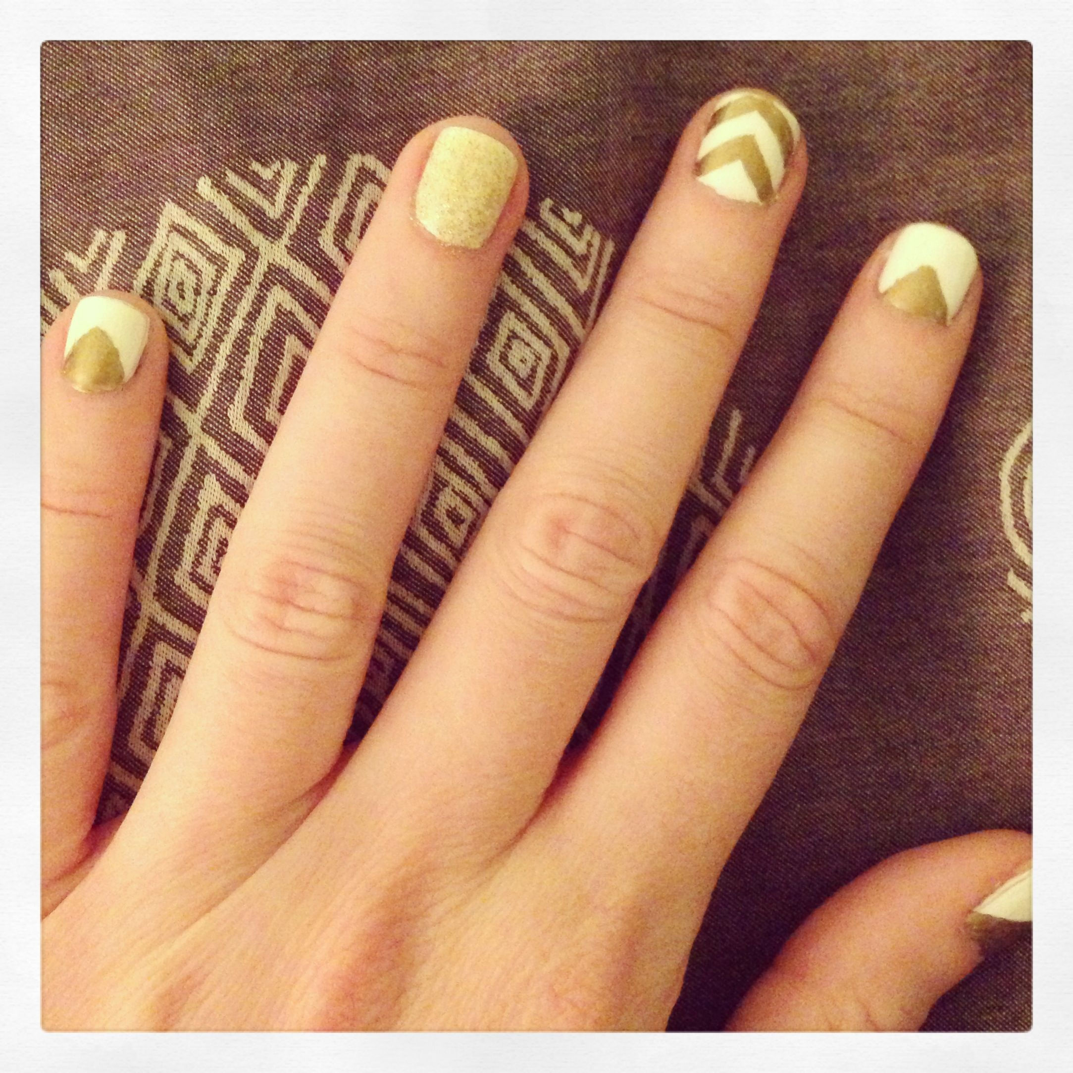 Metallic sharpie nail art  Nail Polish Obsession  Pinterest