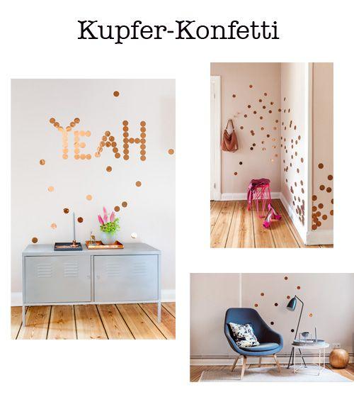Kupfer Konfetti kupfer konfetti multipicture for eli wallpaper