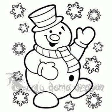 Muneco De Nieve Con Goma Eva Hacemos Uno Free Christmas Coloring Pages Christmas Coloring Sheets Snowman Coloring Pages