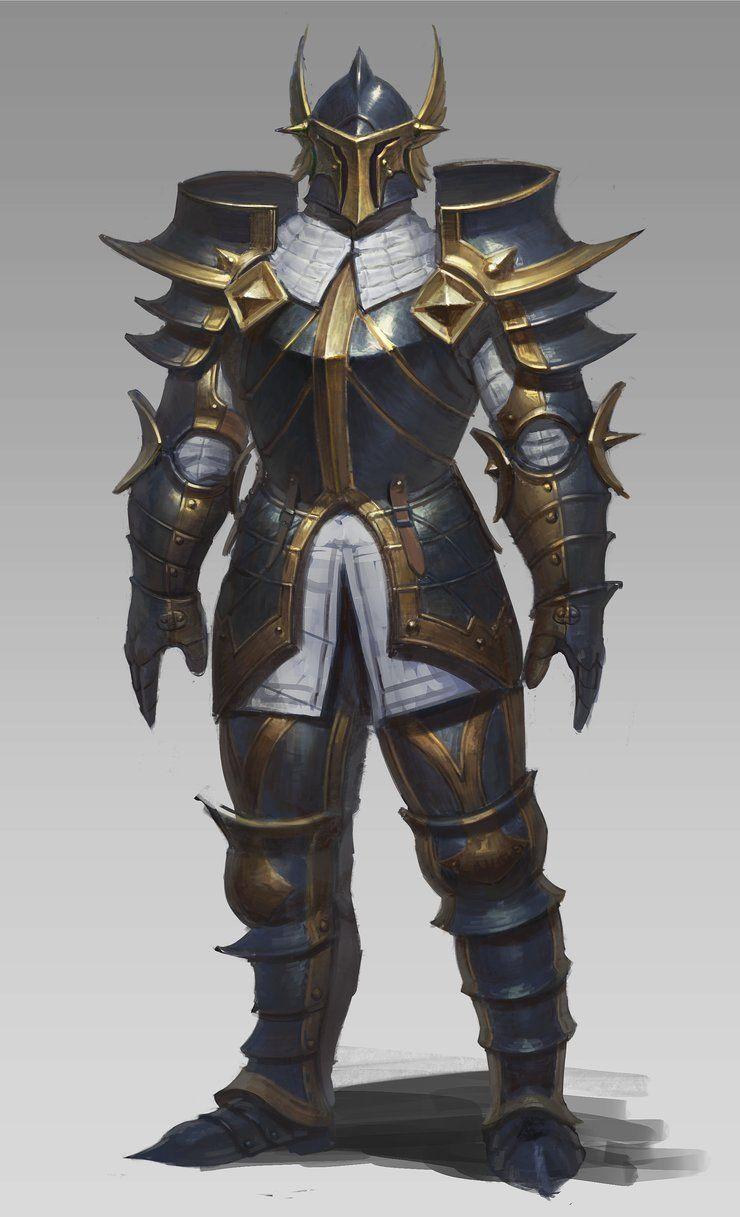 ArtStation - blue armor, sueng hoon woo | Fantasy ...
