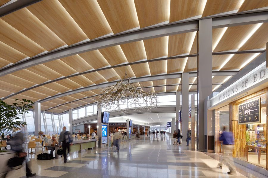 Sacramento International Airport Terminal B Arup A Global Firm Of Consulting Engineers Designers Planners A Airport Design Design International Airport