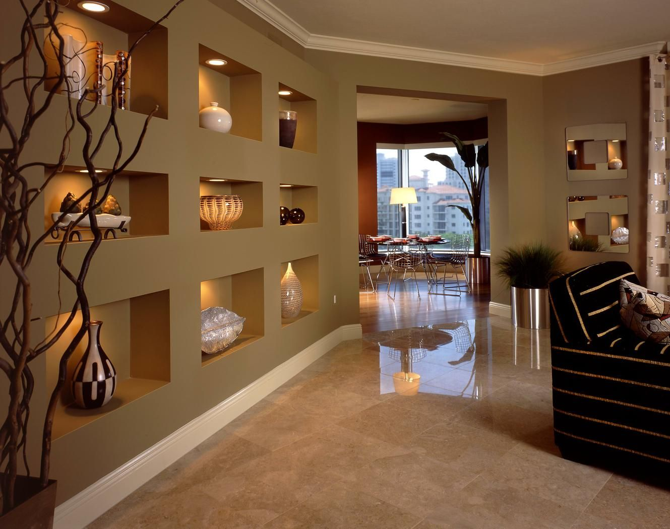 Take a look in 15 gorgeous gypsum board wall decoration for classy