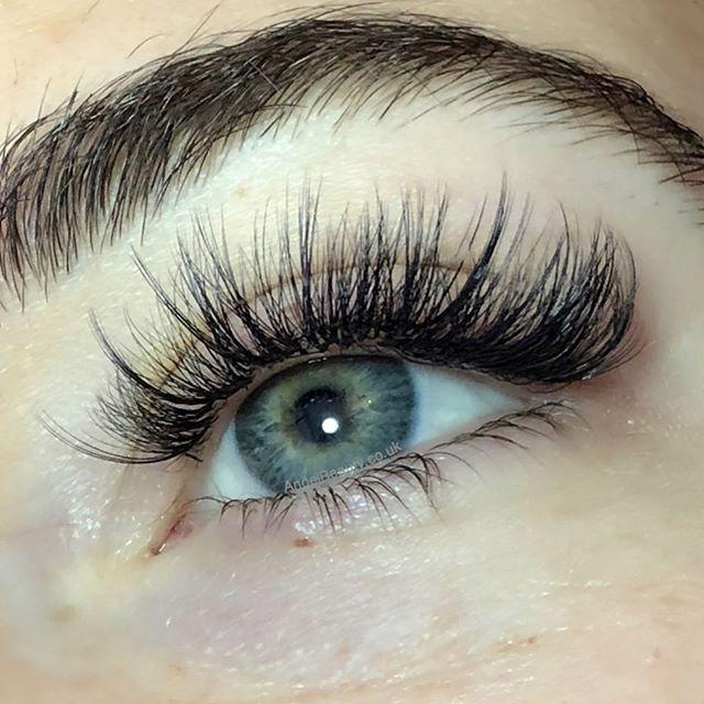 Wispy Kim K lashes - lash extensions are so versatile ...