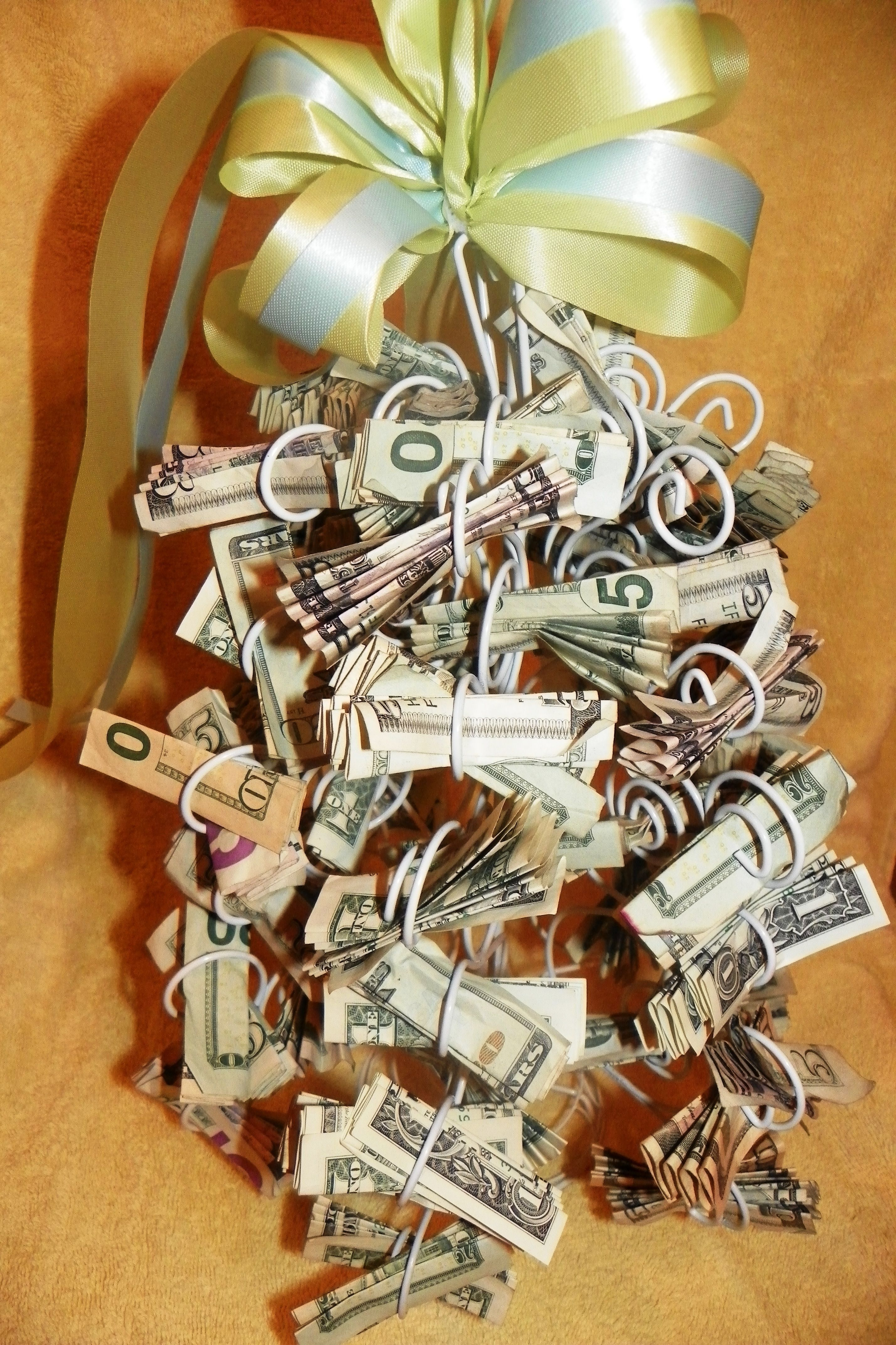 Money tree graduations, weddings, baby showers