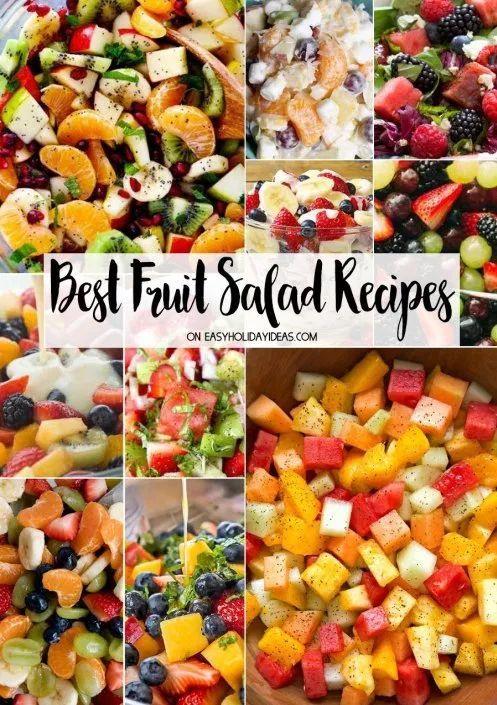 Summer Fruit Salad Recipes Summer salads with fruit