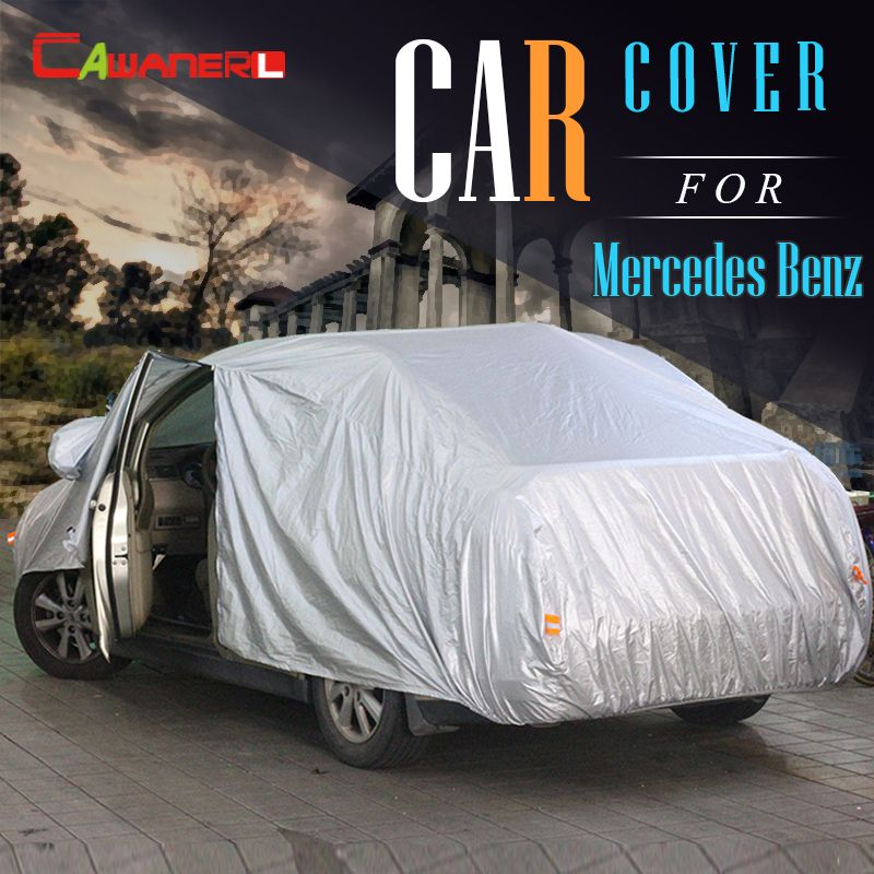 Cawanerl Car Cover SU Indoor Rain Anti-UV Sun Shield Snow