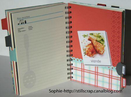 Livre de recettes post du 7 mars 2012 stillscrap les petites id es pour le scrapbooking - Creer un cahier de recettes de cuisine ...