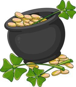 leprechauns with pots of gold google search valentines day