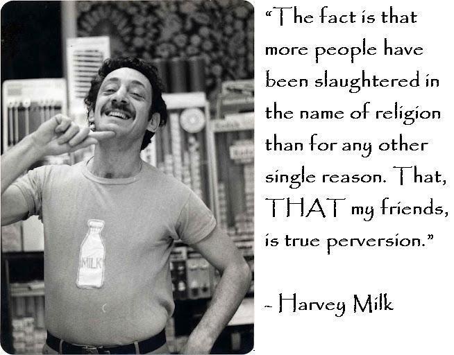 Harvey Milk Reflexións