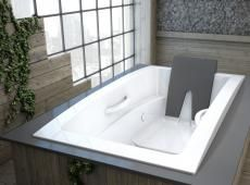 Bainultra Inua® Collection Drop In Air Jet Bathtub For Your Master Bathroom