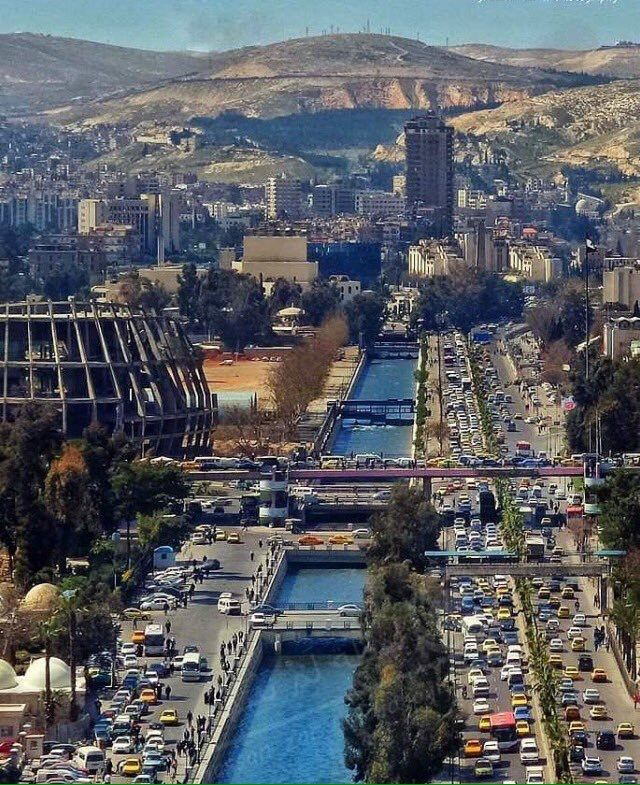 bbf2f058c Damascus,Syria … | Ancient sites | Syria, Damascus, Syria before, after