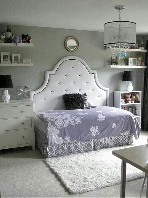 Twin Bed With Queen Headboard Just Turn The Bed Sideways Cute