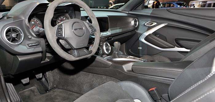 2018 Chevy Camaro Zl1 1le Back Interior Chevrolet Camaro Zl1 Chevrolet Camaro Camaro Zl1
