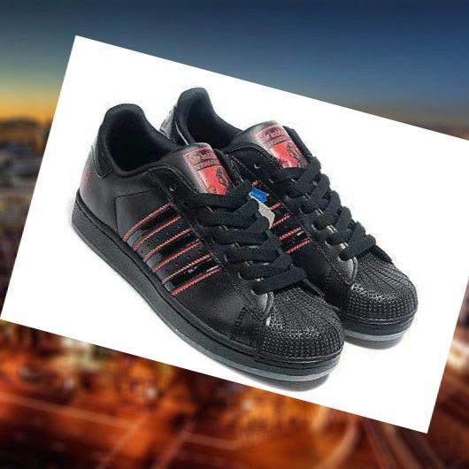 e03e5b2586b Sneskers Para Los Hombres De Adidas Superstar 2 Negro Rojo IritZ Comprar un Espa  a