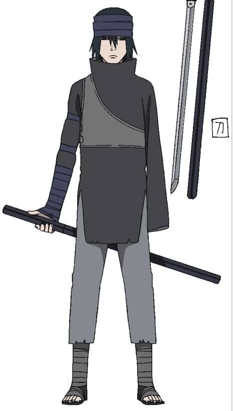 Character Art For Sasuke Uchiha From The Last Naruto The Movie Content For Naruto Shippuden ...