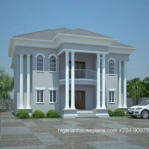 5 Bedroom Duplex Ref Nos 5019 House Plans Mansion Duplex House Design Modern Bungalow House