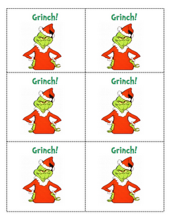 Grinch math game (like bang) to practice doubles and doubles +1 ...