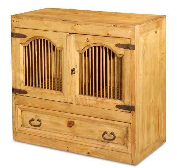 American Furniture Warehouse -- Virtual Store -- B-ASI19 ASI-19 Rustic Spindle Storage Chest Santa Fe Rusticos