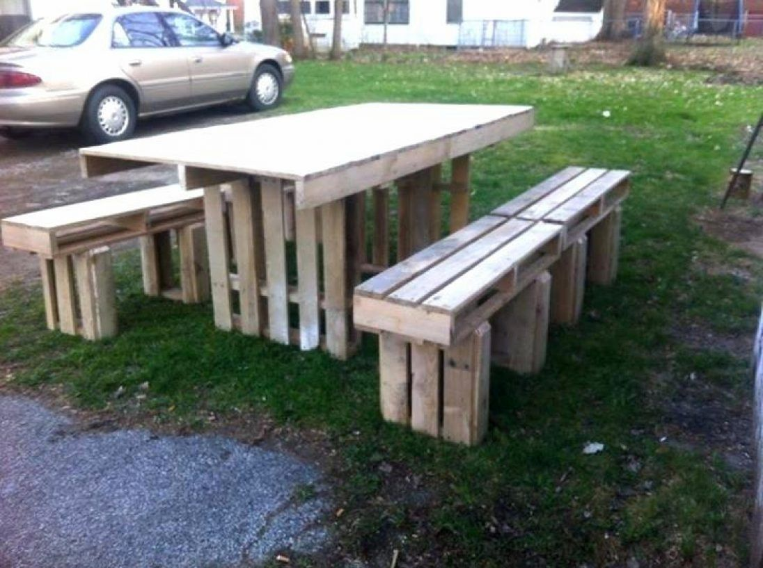 Pallet Tables Projects Pallet garden table ideas in 2020 ...