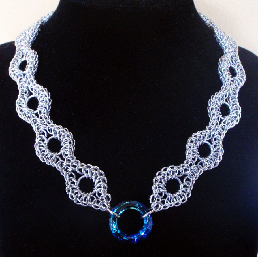 Persian necklace by imrikdragon on deviantart jewelry - Fabrication cotte de maille ...