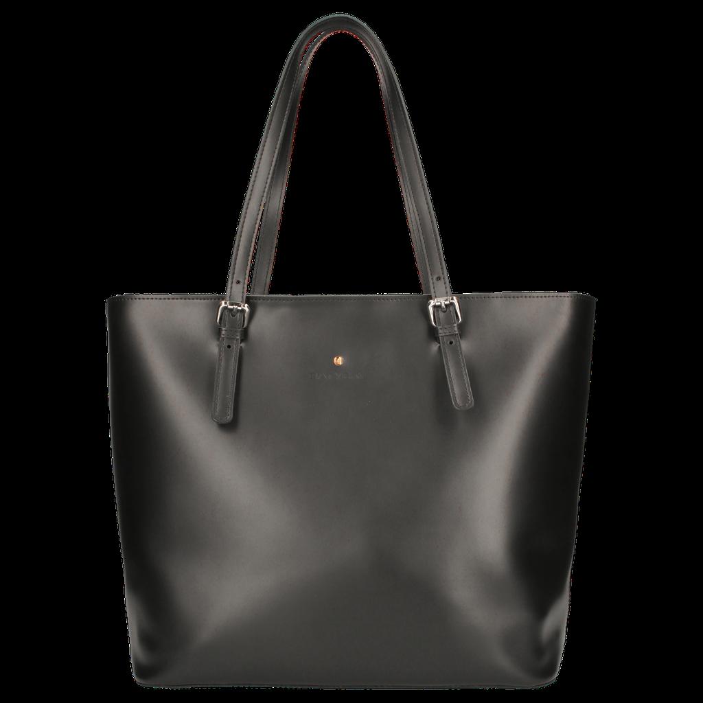 Torebka Skorzana Batycki Shopperka Czarna Be Happy 6497389695 Oficjalne Archiwum Allegro Tote Bag Bags Tote