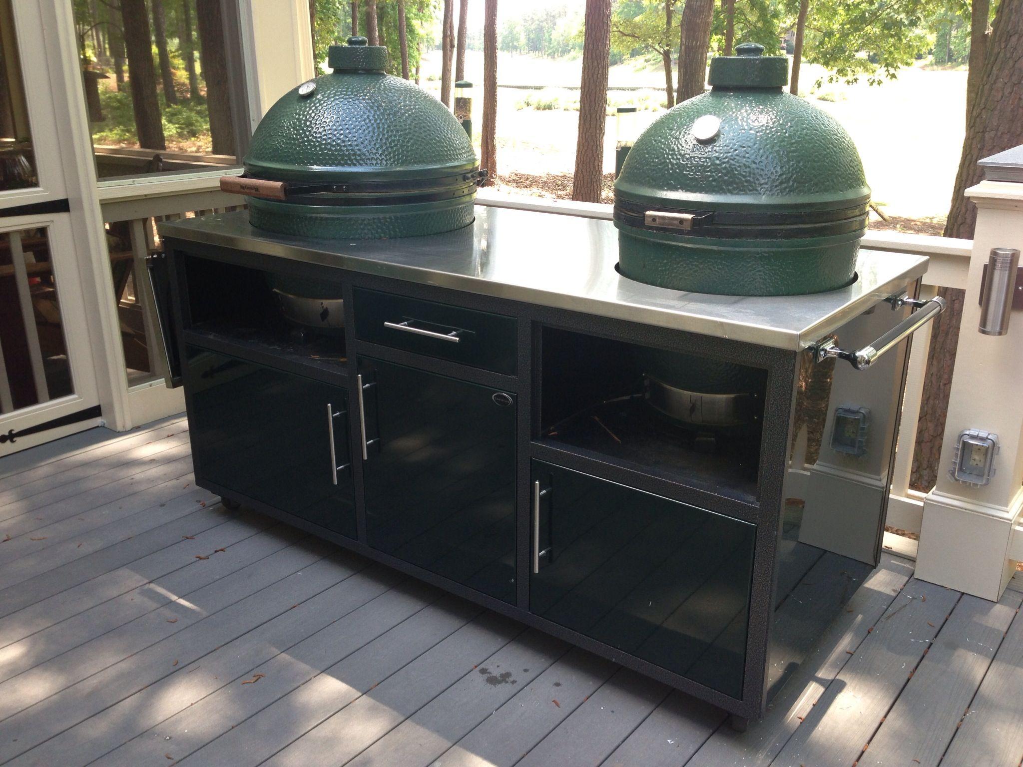 Big Green Egg Outdoor Kitchen 22 Best Images About Big Green Egg On Pinterest Venison Big